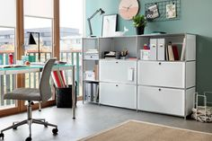 FLEXCUBE Pult Home Office, Shelving, Modern, Indoor, The Unit, Desk, Furniture, Home Decor, Drawers