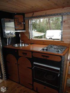 int rieur de caravane comment l 39 am nager caravane caravanes vintage et int rieur. Black Bedroom Furniture Sets. Home Design Ideas