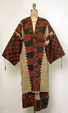 Ensemble , 18th century Greek, silk, linen