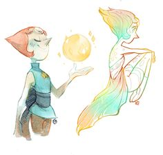 Some Pearl doodles. Today was not a good day for drawing (edit: the weather was rather killing) Belle Cosplay, Pearl Fanart, Perla Steven Universe, Pearl Steven, Steven Univese, Chibi, Universe Art, Animation, Fan Art