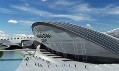 ... of the Olympic Aquatic Centre by Zaha Hadid . Photograph: HO/EPA  #Hadid #Zaha Pinned by www.modlar.com