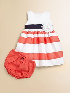 Infant's Dress & Bloomers Set