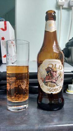 Hobgoblin Gold - strong tasting golden ale 16/12/14