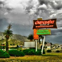 Sad to report...this wonderful old restaurant will close its speaker on 1-31-2017 after 55 years!!!   Charcoaler Drive-In, El Paso, Texas.  This drive-thru saved many a college student's life.  I haven't eaten there since then.  Mmm, that gives me an idea.