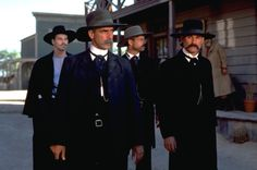 'Tombstone'. 1993.Great western. Val Kilmer, Sam Elliot, Bill Paxton and Kurt Russell