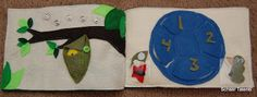 Butterfly life cycle quiet book by Schaer Talents