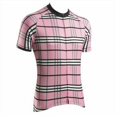DannyShane's Surrey Pink cycling jersey proves that you don't have to be leading the Giro to wear Pink. (also in Camel and Grey)