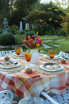 8 Favorite Autumn Tablescapes John 15 12, Picnic Blanket, Outdoor Blanket, Dutch Still Life, Pumpkin Salad, Whatever Is True, Plaid Tablecloth, Old Oak Tree, Last Day Of Summer