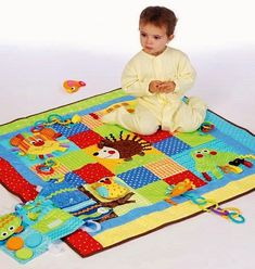 Wee Ones' Play Quilt Pattern McCall's Pattern 7104 by blue510