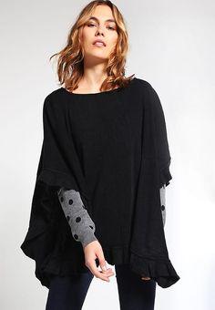 ONLSENTAI - Viitta - black Bell Sleeves, Bell Sleeve Top, Blouse, Long Sleeve, Black, Tops, Women, Fashion, Moda