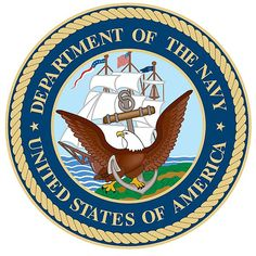 United States of America Department of the Navy Seal - Go #USNavy