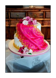 Sari Wedding Cake  Cake by The Cake Tin