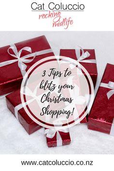 Cat Coluccio | 3 Tips to blitz your Christmas shopping!