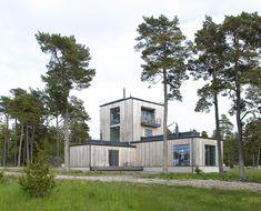 Villa Furillen, Gotland – M.Arkitektur Architecture Design, Villa, Mansions, House Styles, Plants, Houses, Inspiration, Nature, Homes