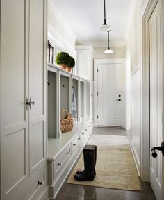 mudroom-cabinets - Julie Blanner entertaining & design that celebrates life