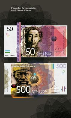 Currency study on Behance