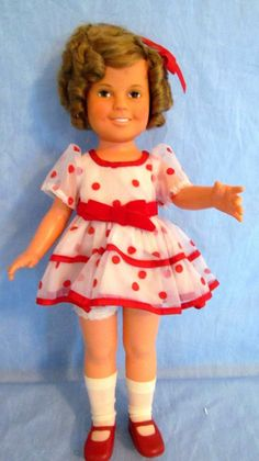 Ideal Toy Corporation 1972 Shirley Temple Doll