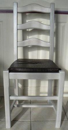 """renovation chaise assise paille en assise """"coussin"""" - bien expliqué"""