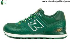 Discount New Balance NB ML574 Year of Snake 2013 Green Golden For Men shoes Your Best Choice
