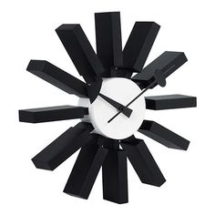 Smith Wall Clock from the Clocks I collection at Modern Area Rugs