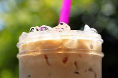 Iced coffee - and recipe: http://cravingcomfort.blogspot.com/2011/07/last-iced-coffee-recipe-youll-ever-need.html