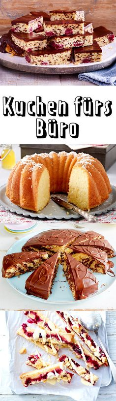 Ob zum #Geburtstag oder einfach so. Deine Kollegen werden sich bestimmt riesig über diese #Kuchen freuen.