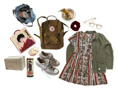 """""""College Move-In"""" by jupiter-geese ❤ liked on Polyvore featuring Vans, Converse and Olympia Le-Tan"""