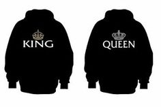 Sweet King and Queen Chive Hoodie Set