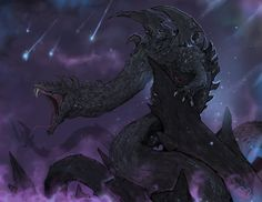 - Dalamadur, the Serpent King Dragon - By Halycon450 ( Ramirez de Souza ) ** Permission was granted by the artist to share this image.