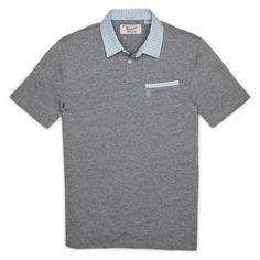 #FashionVault #perry ellis #Men #Tops - Check this : Original Penguin GINGHAM TRIM POLO for $24.99 USD