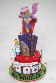 Planet Cake, Alice in Wonderland