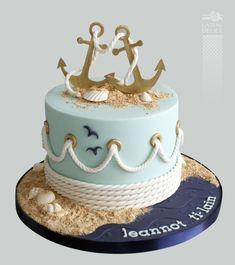 Nautical Party Cake