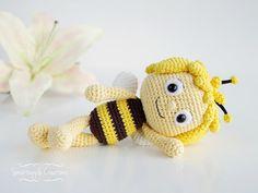 Smartapple Creations - amigurumi and crochet: Maya the Bee