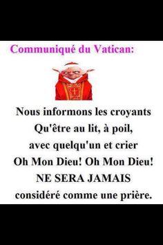 Communiqué spécial du Vatican
