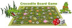 crocodile board game - PDF