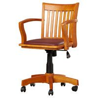 Alcott Hill Celina Mid-Back Deluxe Banker's Chair & Reviews | Wayfair