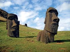 I hope to travel to #EasterIsland one day.