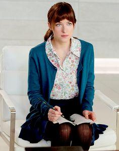 Dakota Johnson as Anastasia, 50 Shades of Grey