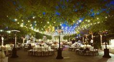Decoração de Casamentos Ao Ar Livre a Noite