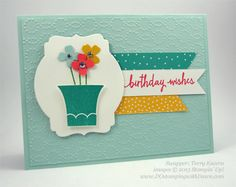 Build a Birthday swap card shared by Dawn Olchefske #dostamping #stampinup (by Terry Kucera)