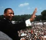 """Iconic photos documenting the life of Martin Luther King Jr. in full color, presented by Getty Images. King while giving his """"I Have a Dream"""" speech to a huge crowd gathered during the March on Washington for Jobs and Freedom in Oprah Winfrey, Paradis Fiscal, Afro, Dr Martins, Civil Rights Movement, I Have A Dream, Iconic Photos, King Jr, Black History Month"""
