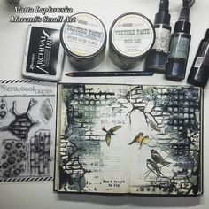 Marta Lapkowska: About my JOURNAL LOVE + VIDEO tutorial