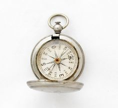 Rare French Hunter Compass / antique Solid by GrandpasMarket, €122.90