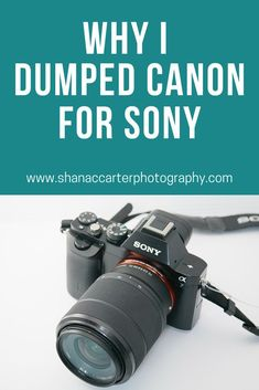 Wondering which camera to buy? Read why I decided to make the switch from the Canon Mark IV camera to the Sony camera. Sony Camera, Digital Camera, Camera Gear, Camera Photography, Photography Business, Learn Photography, Travel Photography, Best Canon Lenses, Aperture And Shutter Speed