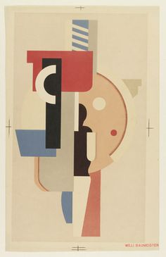 Willi Baumeister. Composition. 1925