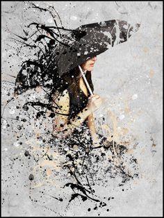 """Umbrella - """"La femme parapluie"""""""