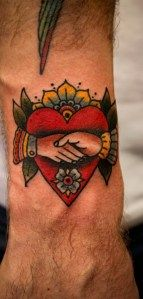 Coolest claddagh I've seen!!!