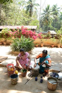 Block Printers of Bangalore Craft Business, Beautiful Hands, Pink And Green, Lush, Printing On Fabric, Printer, Collections, Plants, Nature