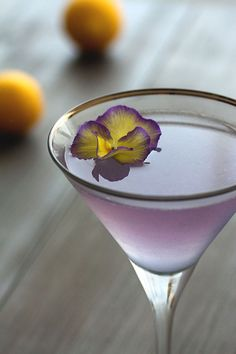 Aviation Classic Cocktail Recipe by HonestlyYUM         http://honestlyyum.com/10889/aviation/