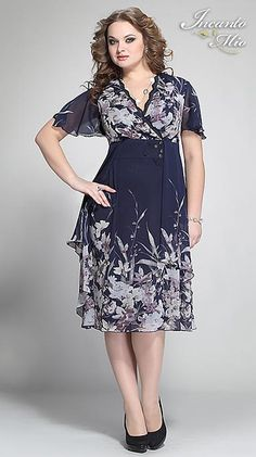 Платья больших размеров белорусского бренда Inkanto Mio. Весна-лето 2013 Frock For Women, Looks Plus Size, Pattern Cutting, Frocks, Stylish Outfits, Kurti, Plus Size Fashion, Short Dresses, Womens Fashion